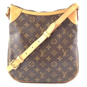 Shoulder Odeon Monogram Canvas Cross Body Bag